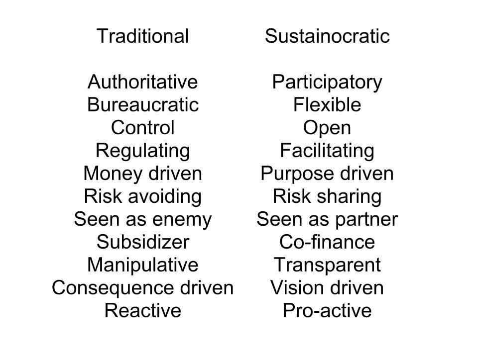 "What makes a government ""sustainocratic""? « Sustainocracy, the new ..."