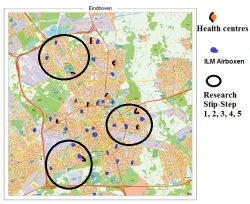 AuREAS activity map Eindhoven