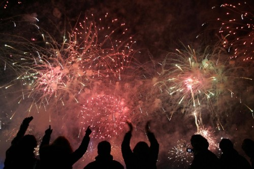 Fireworks exposes people to an invisible danger