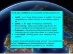 5 core conditions